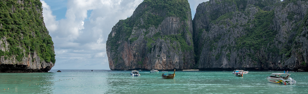 Phi Phi Islands y la huella de Francisca Cooper