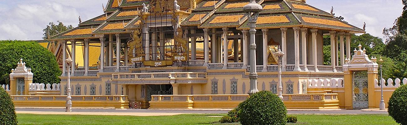 Casas Reales de Camboya | Palacios para gemir y danzar