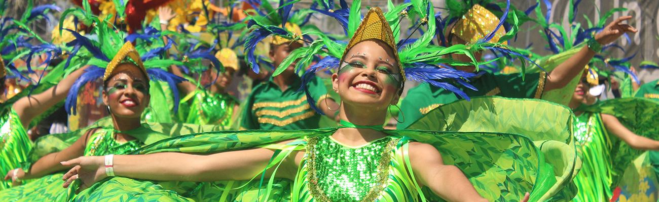 Shakira y el carnaval de febrero