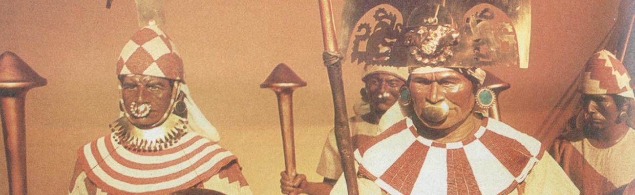 Señor de Sipán | Reyes peruanos de mantel largo