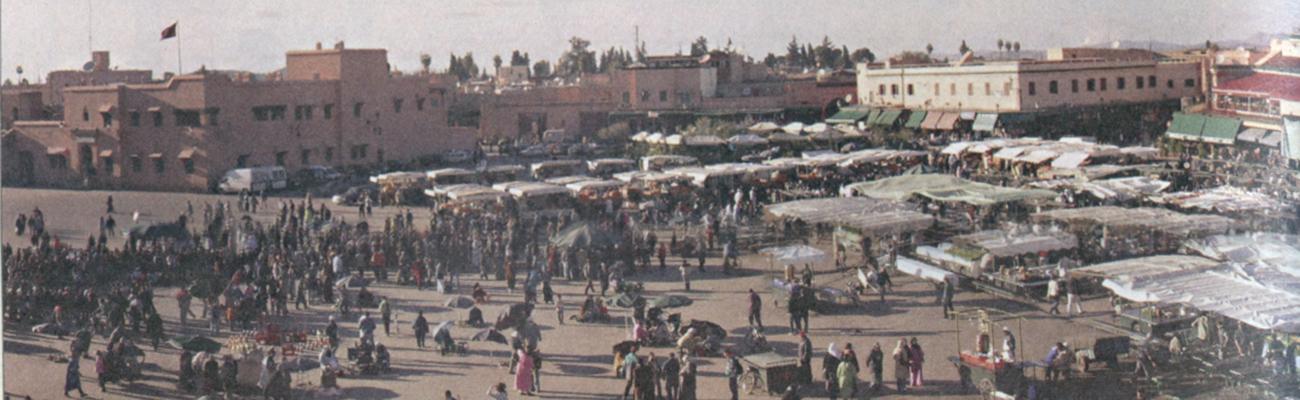 "Marrakech | ""¡Ándate al tiro!""."